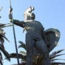 Ахиллион в парке статуя «Ахилл-Победитель»