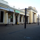 Старое здание железнодорожного вокзала в Адлере.
