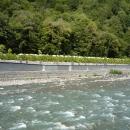 Река Мзымта у Горного озера. Роза Долина.