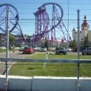 Аттракцион Квантовый скачок в тематическом парке развлечений Сочи Парк в Адлере.