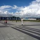 Центральная площадь Олимпийского парка Сочи.