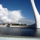 Музыкальный фонтан.Олимпийский парк Сочи летом.