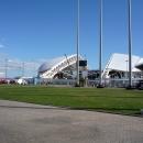 Перестраивающийся стадион Фишт к Чемпионату мира по футболу 2018.