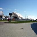 Стройка на стадионе Фишт к Чемпионату мира по футболу 2018.