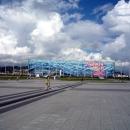 Центральная площадь. Вид на Дворец спорта Айсберг.