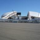 Стадион Фишт в Олимпийском парке Сочи.