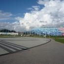 Дворец спорта Айсберг и тренировочный центр для фигурного катания и шорт-трека.