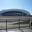 Дворец спорта Большой в Олимпийском парке Сочи.