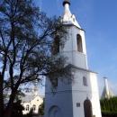 Колокольня в Алексеево-Акатовом монастыре - самое старое здание из сохранившихся до наших дней в Воронеже.