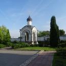 Часовня Новомучеников на территории Алексеево-Акатова монастыря.