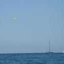Средиземное море в Аланье. Турция.