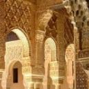 Внутреннее украшение дворца Альгамбра