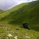 Тишина и чистый воздух в горах Кавказа. Абхазия.