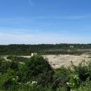 Вид с обзорной площадки на панораму Приморского карьера. Янтарный комбинат.