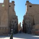 Достопримечательность Луксора – Луксорский храм. Египет.