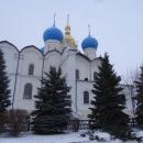 Благовещенский собор на территории Казанского кремля.