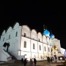 Вид на Южную часть Благовещенского собора Казанского кремля.