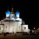 Вид на восточную часть Благовещенского собора Казанского кремля.