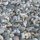 Берег Анталии. Галечные пляжи в Турции.