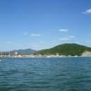 Вид на пляж Архипо-Осиповки.
