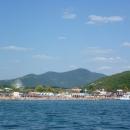 Вид на Архипо-Осиповку с корабля.