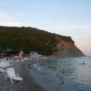 Пляж на курорте Архипо-Осиповка.