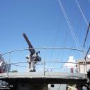 Военный корабль «Аврора» - памятник отечественного кораблестроения. Санкт-Петербург.