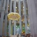 Господь под куполом собора Святого Семейства, Барселона.