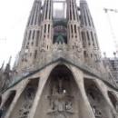 Фасад Страстей Христовых собора Святого Семейства, Барселона.