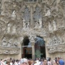 Фасад Рождества собора Саграда Фамилия, Барселона.