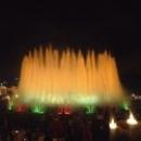 Шоу фонтанов в Барселоне.