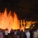 Четыре водопада и поющий фонтан в Барселоне.