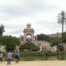Прогулки по паркам Барселоны.