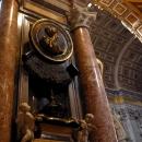 Внутреннее убранство Базилики Святого Петра. Ватикан.