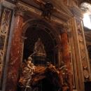 Шедевры из камня и мрамора в Соборе Святого Петра. Basilica di San Pietro. Ватикан.