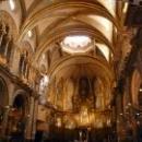 Базилика Монтсеррат, в центре Черная Мадонна - Пресвятая Дева Монтсеррат