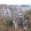 Бастай - природный заповедник федеральной земли Саксония у города Дрезден. Германия.