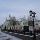Никольский кафедральный собор на улице Баумана. Казань.