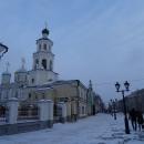 Никольский кафедральный собор на ул. Баумана в Казани.