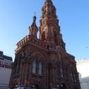 Колокольня Богоявленской церкви на ул. Баумана – самая высокая в Казани.