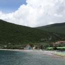 Пляж Жаница считается лучшим пляжем Черногории в Боко-Которском заливе.