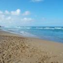 Золотой песок пляжа Макао. Доминикана.