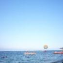 Водные развлечения на пляжах Кемера.