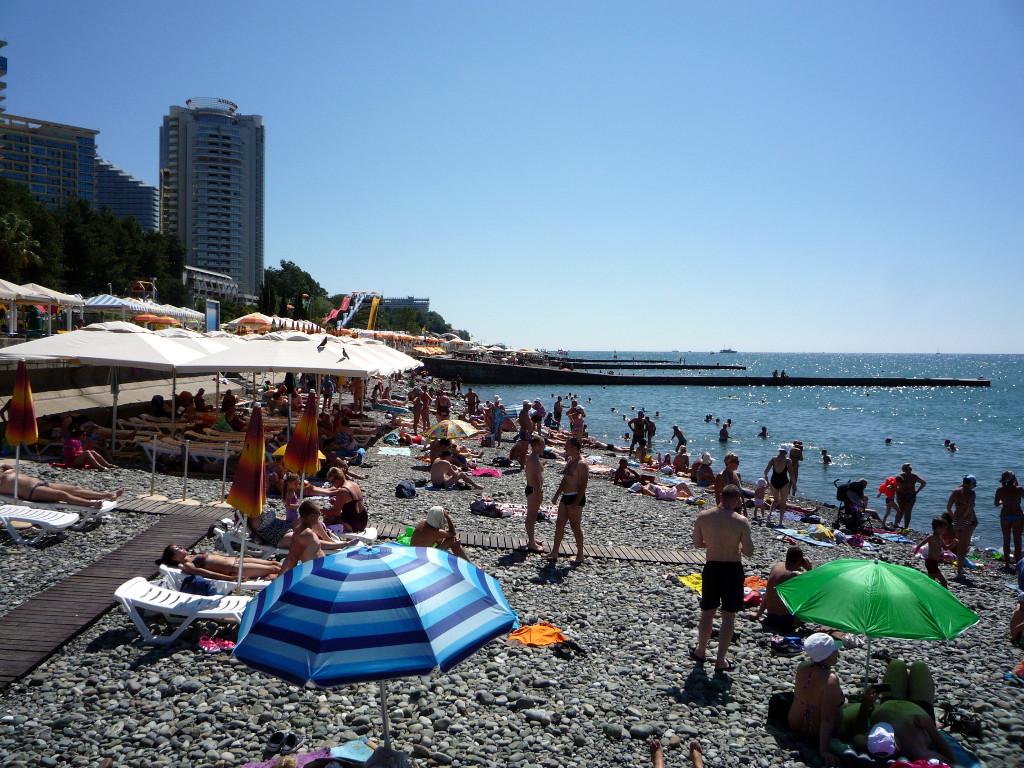 город сочи картинки пляж комсомольский стал