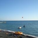 Развлечения на пляже «Приморский» в Сочи.