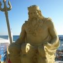 Нептун у «Приморского» пляжа в Сочи.