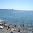 Пляж «Арарий» в цнтре Сочи.
