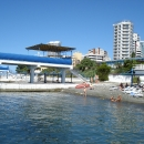 Пляж пансионата «Эдем» в Сочи.