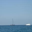 Средиземное море в Белеке. Турция.