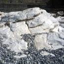 Белые скалы - природный объект около Гагры.